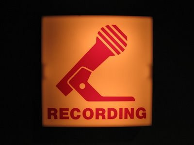 recording-sign