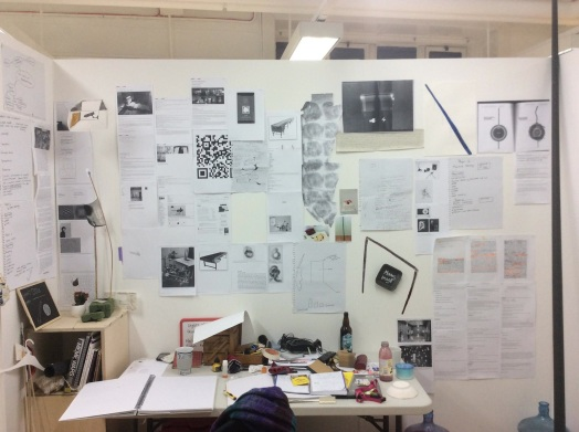 studio research image from Christabel Geary . Masters of Letters Fine Art